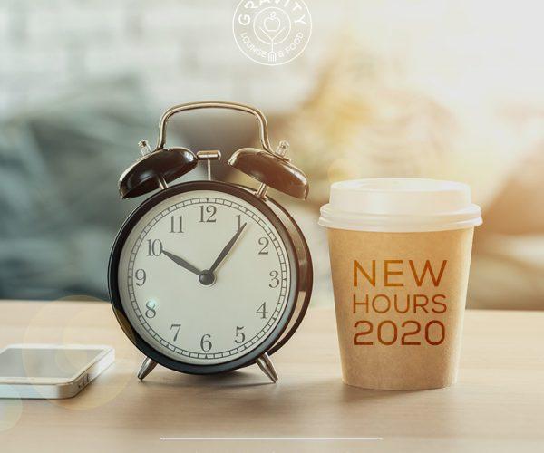 Nuovi orari 2020